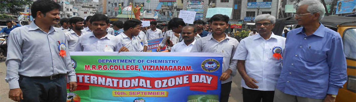 International Ozone Day 2016 Organized by Chemestry Department