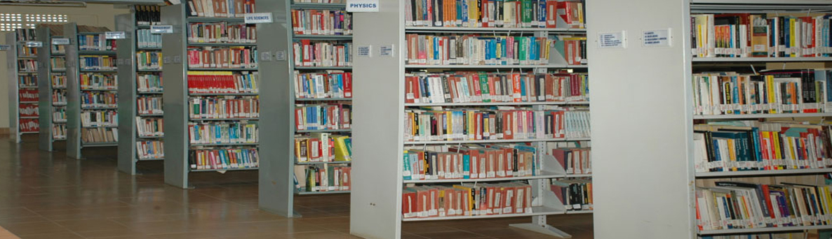 MRPG College Central Library - Book Collecton