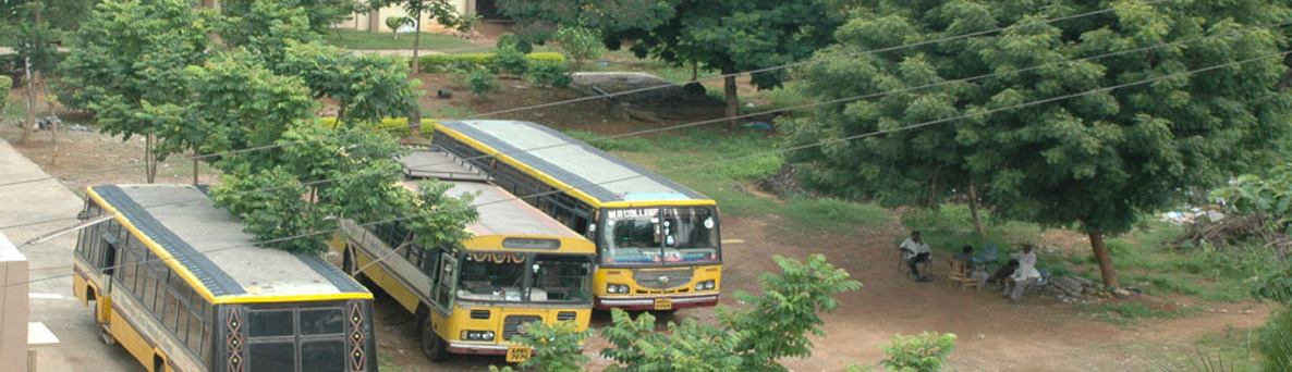 BUS Facility @ MRPG College