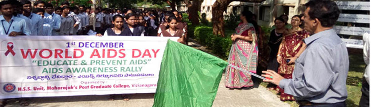 Our Director Start Rally on behalf of Awareness on AIDS