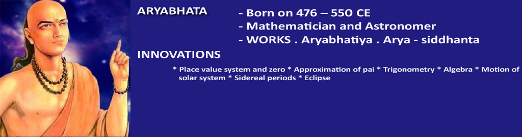 ARYABHATA - Mathematician and Astronomer